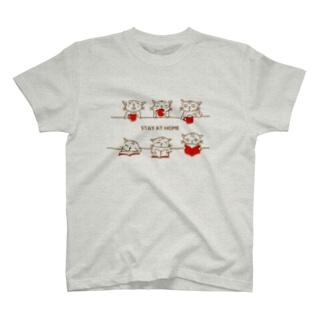 STAY AT HOME シマちゃん T-Shirt