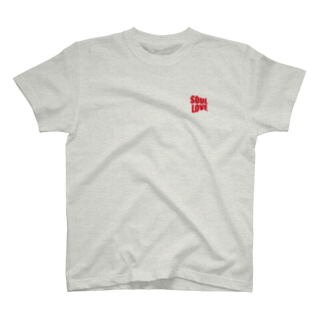 music bar SOUL LOVEのSOUL LOVE ロゴ forth T-shirts