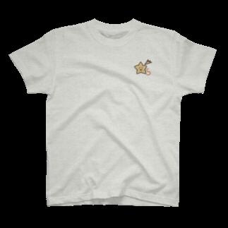 いずちゃんまーけっとのゆるゆるイニシャル S T-shirts