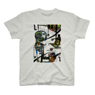 upside down 逆さま T-shirts