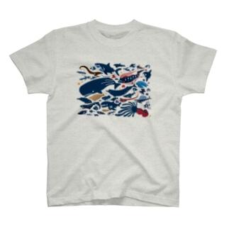 深海生物 T-shirts