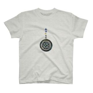 縄文神鏡八咫 T-shirts
