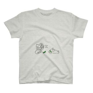 夏の日の馬 T-shirts