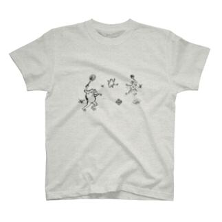 庭球蛙 T-Shirt