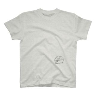 やすらぎのおまもり(Tシャツ) T-shirts