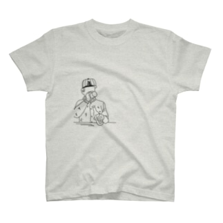 beer chill ankle  T-shirts