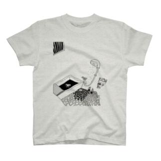 👻📗のかもめA-Tシャツ T-shirts