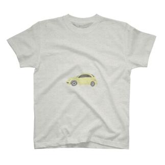 たゆたるのくるま(ビートル) T-shirts