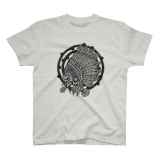 Indian t-shirt / mono T-shirts