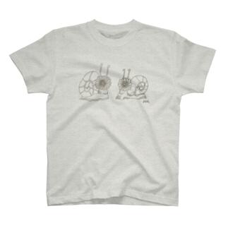 ハナカタツムリ T-shirts