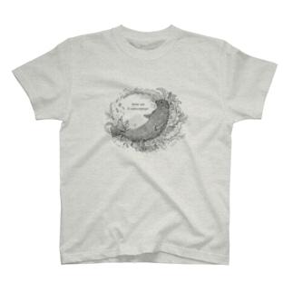 ゼニガタアザラシ T-shirts