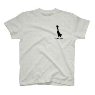 芦ノ湖Tシャツ T-shirts