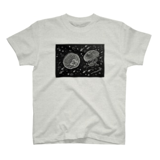 Salt Water Jelly8 (塩水アートデザイン) T-shirts