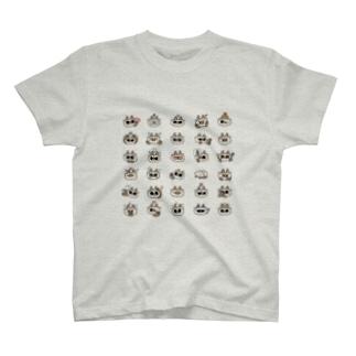 あずきさん百面相 T-shirts