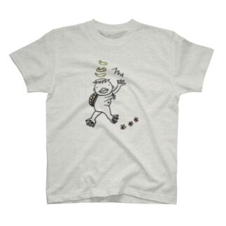 カッパ(キュウリ付き) T-shirts