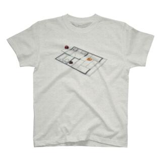 生活を模するてんとう虫 T-shirts