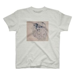 分裂FACE T-shirts
