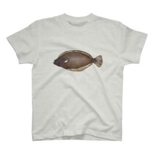 ヒラメひらめ平目 T-shirts