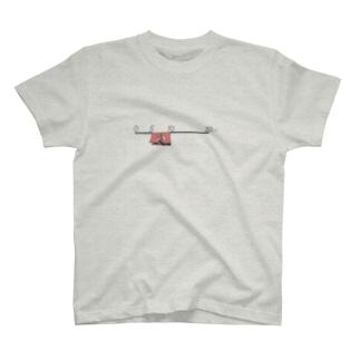 のれんのスケールバー T-shirts