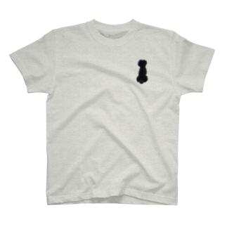 ヒューの背中 T-shirts