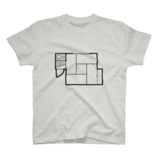 四畳半(1K) T-shirts