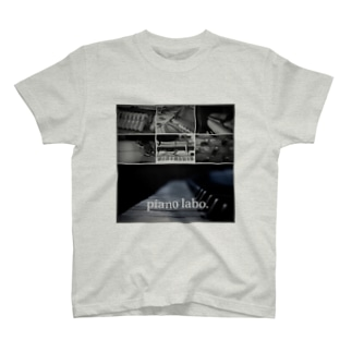 pianolaboのピアノラボTシャツ T-shirts