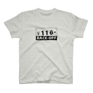 バックオフTシャツ T-shirts