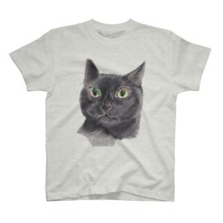 さくら黒猫のウニ T-shirts