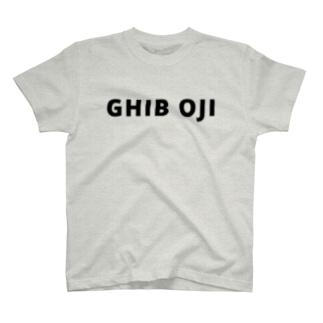 GHIB OJI Tシャツ T-shirts