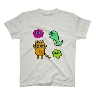 モグT(4人衆) T-shirts