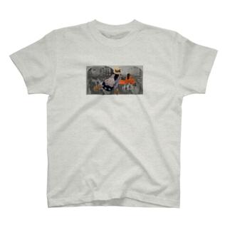 町のながめ T-shirts