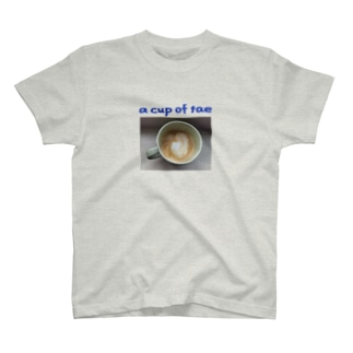 a cup of tea T-shirts