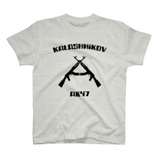 カラシニコフ A  47 Kalashnikov AK-47 ソビエト 銃 T-shirts