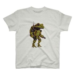 量産型カエルロボ T-shirts