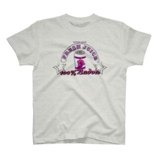 wabiko to sabioのBudou Juice T-shirts