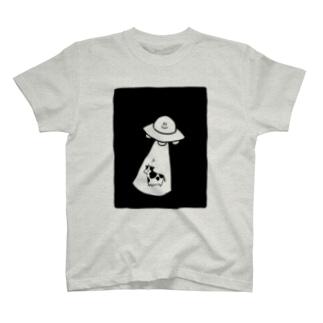 キャトられる牛 T-Shirt