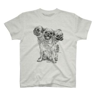 小田隆のPugberus T-shirts