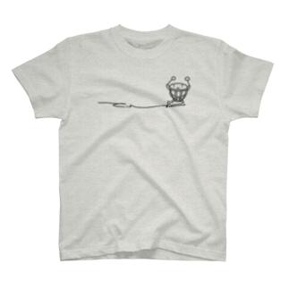 ティンパニさんひかえめ単色 T-shirts