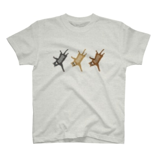 猫トリオ T-shirts
