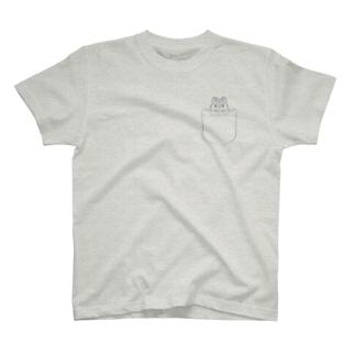 ポケットハムスター/ジャンガリアン T-shirts