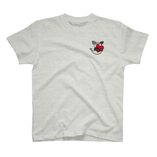 ケヤリーフ ハートハグ T-shirts