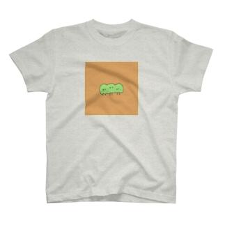 ぬのちゃんズ_豆ちゃん兄弟 T-shirts