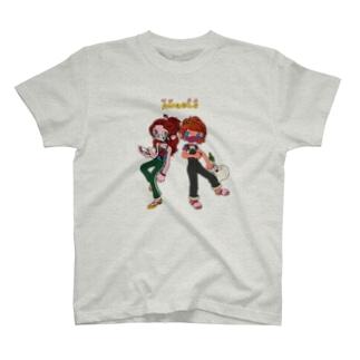 三密を避けるAngels T-shirts