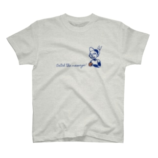 Catch the message ロボット T-shirts