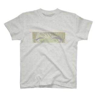 まろまゆ目元 T-shirts