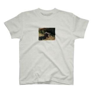 走るいぬ T-shirts