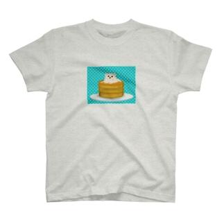 ホットケーキポメ T-shirts