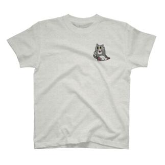 ねこ(文字無し)完成型  T-shirts