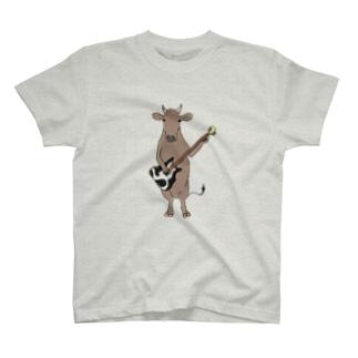 ギターと和牛 T-Shirt