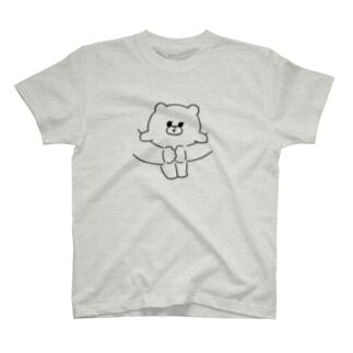 くま・だっこ T-shirts
